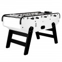 Bistrot white football table