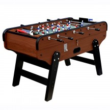 Bistrot mahogany football table