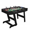 Foldable Zizou black football table