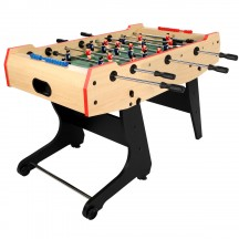 Foldable football table