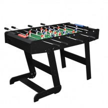 Foldable Zizou black football table