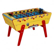 Stella Champion yellow coin-operated football table