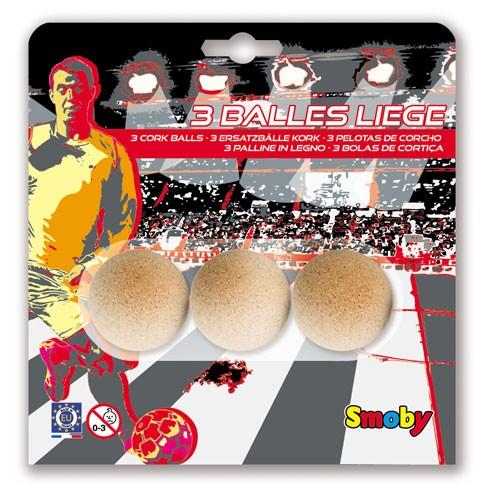 3 cork balls 35mm