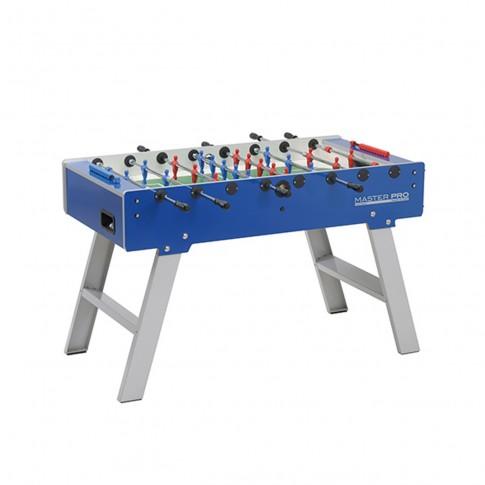 blue outdoor football table