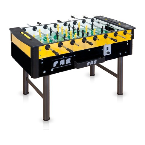 buy yellow and black football table