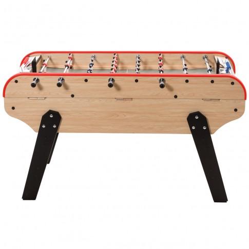 football table wood coin