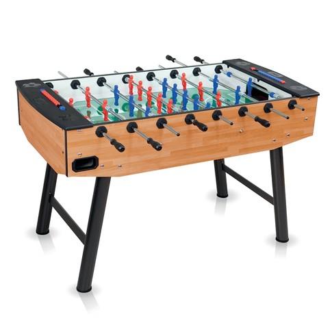 italian light wood football table