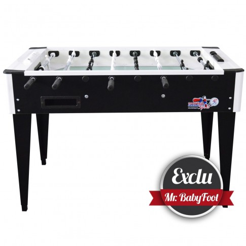 exclusive black and white Roberto Sport football table