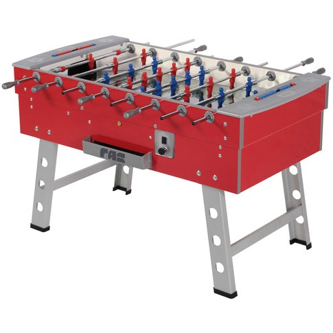 red and gray football table pro
