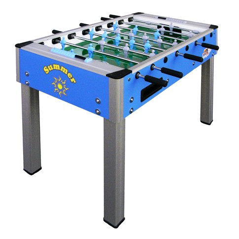 summer blue roberto football table