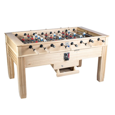 Futbolines Val solid oak football table