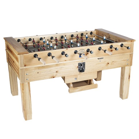 Val junior football table from pine wood