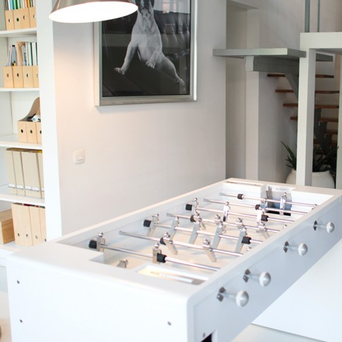 Debuchy by Toulet T11 design football table white
