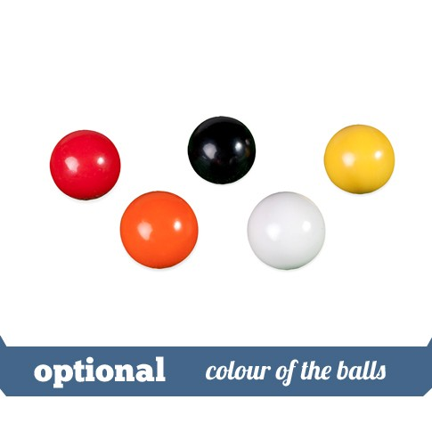 option colour of the balls