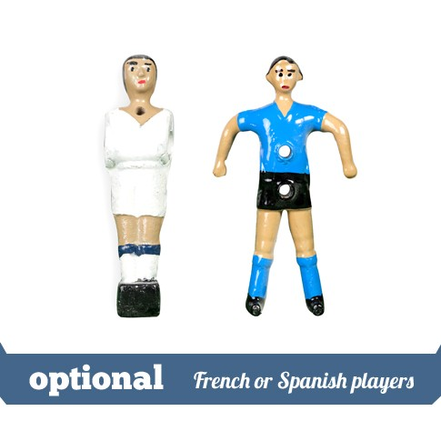 optional french or spanish players