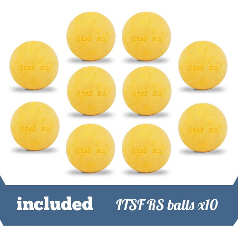 pack 10 ITSF RS balls