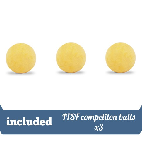 Pack of 3 ITSF debranded balls