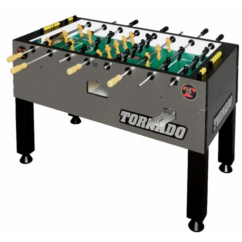 Tornado T3000 football table grey coin operated best price